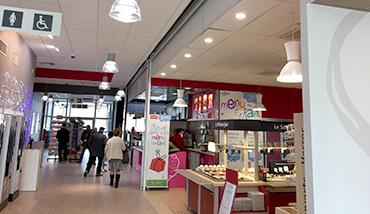 Station service, Aire du Chavanon, magasin, produit monoprix