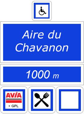 Station service, aire du chavanon, A89