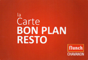 station service, carte Bon Plan Resto